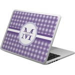 Gingham Print Laptop Skin - Custom Sized (Personalized)