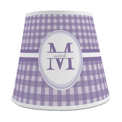 Gingham Print Empire Lamp Shade (Personalized)