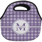 Gingham Print Lunch Bag (Personalized)