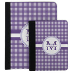 Gingham Print Padfolio Clipboard (Personalized)