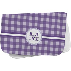 Gingham Print Burp Cloth (Personalized)