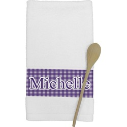 Gingham Print Kitchen Towel (Personalized)