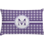 Gingham Print Pillow Case (Personalized)