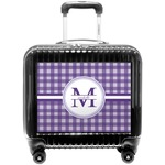 Gingham Print Pilot / Flight Suitcase (Personalized)
