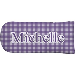 Gingham Print Putter Cover (Personalized)