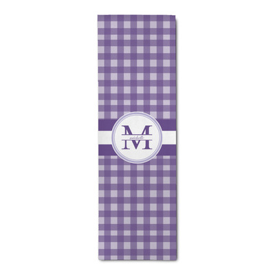 Gingham Print Runner Rug - 3.66'x8' (Personalized)