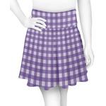 Gingham Print Skater Skirt (Personalized)