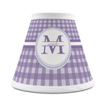 Gingham Print Chandelier Lamp Shade (Personalized)