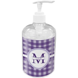 Gingham Print Soap / Lotion Dispenser (Personalized)