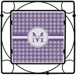 Gingham Print Square Trivet (Personalized)