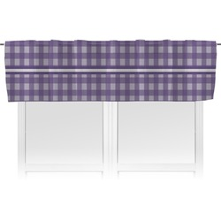 Gingham Print Valance (Personalized)