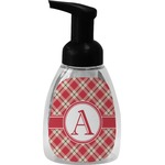 Red & Tan Plaid Foam Soap Dispenser (Personalized)