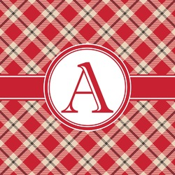 Red & Tan Plaid
