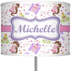 "Princess Print 13"" Drum Lamp Shade (Personalized)"