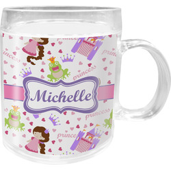 Princess Print Acrylic Kids Mug (Personalized)