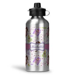 Princess Print Water Bottle - Aluminum - 20 oz (Personalized)