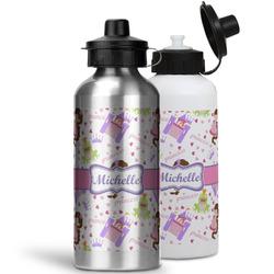 Princess Print Water Bottles- Aluminum (Personalized)