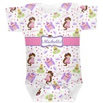 Princess Print Baby Bodysuit (Personalized)