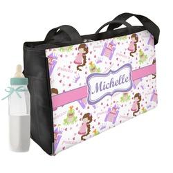 Princess Print Diaper Bag (Personalized)