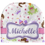 Princess Print Baby Hat (Beanie) (Personalized)