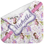 Princess Print Baby Hooded Towel (Personalized)