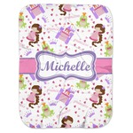 Princess Print Baby Swaddling Blanket (Personalized)