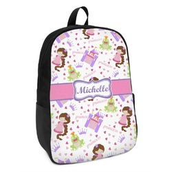 Princess Print Kids Backpack (Personalized)