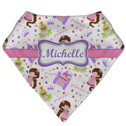 Princess Print Bandana Bib (Personalized)