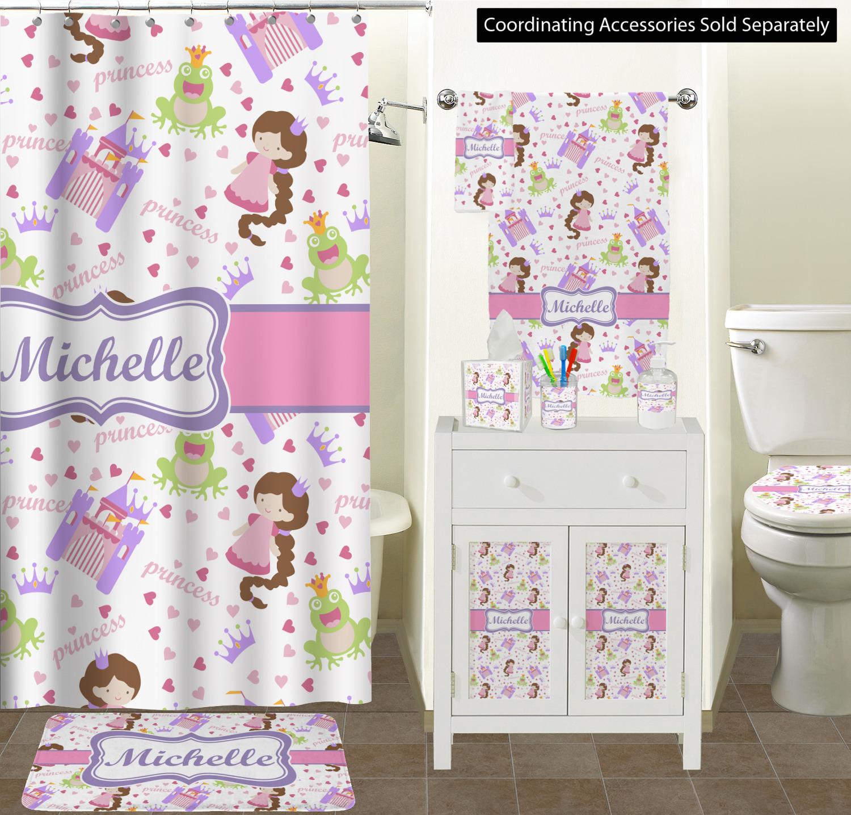 ... Princess Print Bathroom Scene Custom Bathroom Decor ...