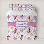 Princess Print Duvet Covers (Personalized)