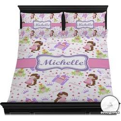 Princess Print Duvet Cover Set (Personalized)