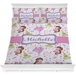 Princess Print Comforter Set (Personalized)