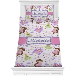 Princess Print Comforter Set - Twin (Personalized)