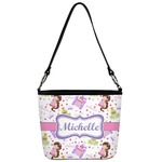 Princess Print Bucket Bag w/ Genuine Leather Trim (Personalized)