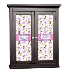 Princess Print Cabinet Decal - Small (Personalized)