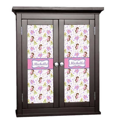 Princess Print Cabinet Decal - Custom Size (Personalized)