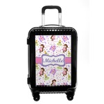 Princess Print Carry On Hard Shell Suitcase (Personalized)