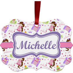 Princess Print Ornament (Personalized)