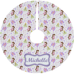 Princess Print Tree Skirt (Personalized)