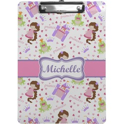 Princess Print Clipboard (Personalized)
