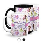 Princess Print Coffee Mugs (Personalized)