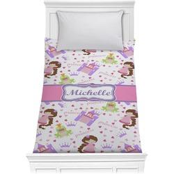 Princess Print Comforter - Twin (Personalized)