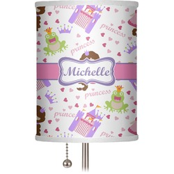 "Princess Print 7"" Drum Lamp Shade (Personalized)"