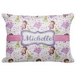 Princess Print Decorative Baby Pillowcase - 16
