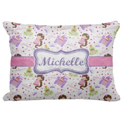 "Princess Print Decorative Baby Pillowcase - 16""x12"" (Personalized)"