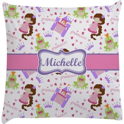 Decorative Princess Pillows : Princess Print Decorative Pillow Case (Personalized) - You Customize It