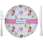 Princess Print Glass Lunch / Dinner Plates 10