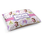 Princess Print Dog Bed (Personalized)