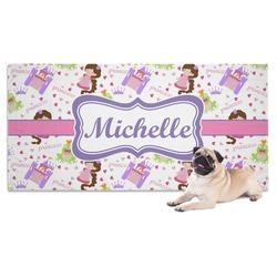 Princess Print Pet Towel (Personalized)