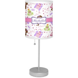 "Princess Print 7"" Drum Lamp with Shade (Personalized)"